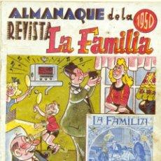 Tebeos: ALMANAQUE REVISTA LA FAMILIA 1950. Lote 126328951