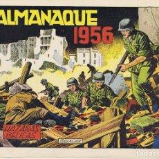 Tebeos: HAZAÑAS BELICAS. ALMANAQUE 1956. Lote 127276087