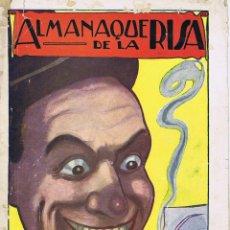 Tebeos: ALMANAQUE DE LA RISA 1924. Lote 127276983