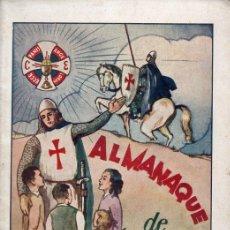 Tebeos: ALMANAQUE DE LA CRUZADA EUCARÍSTICA 1956. Lote 127484415