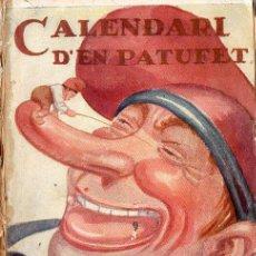 Tebeos: CALENDARI PATUFET 1920. Lote 127759079