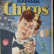 Tebeos: ALMANAQUE CHICOS 1947 - ORIGINAL ( M 3 ). Lote 128213127