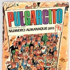 Tebeos: PULGARCITO NUMERO ALMANAQUE PARA 1967. Lote 128342494