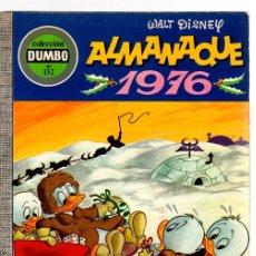 Tebeos: COLECCION DUMBO ALMANAQUE 1976. Nº 132. EDICIONES RECREATIVAS. Lote 128342658