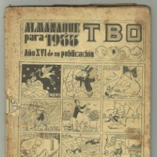 Tebeos: TBO ALMANAQUE PARA 1933 - FALTO DE PORTADAS . Lote 128533651