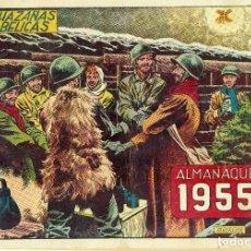 Tebeos: HAZAÑAS BELICAS ALMANAQUE 1955. Lote 128611215