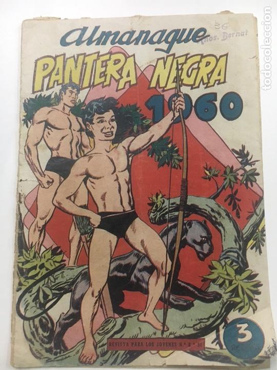 ALMANAQUE PANTERA NEGRA 1960 (Tebeos y Comics - Tebeos Almanaques)