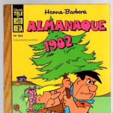 Tebeos: HANNA BARBERA ALMANAQUE 1982. COLECCION TELE HISTORIETA. Nº 154. EDICIONES RECREATIVAS. Lote 131168975