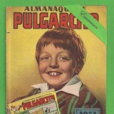 Tebeos: PULGARCITO EXTRA Nº 7 - ALMANAQUE PARA 1951 - BRUGUERA - (1951). 3 PTAS.. Lote 131562646