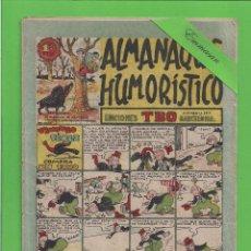 Tebeos: TBO - EXTRA 8 - ALMANAQUE HUMORÍSTICO PARA 1948 - TIMOTEO PÉREZ COMPRA UN PAVO - BUIGAS (1947).. Lote 131855102