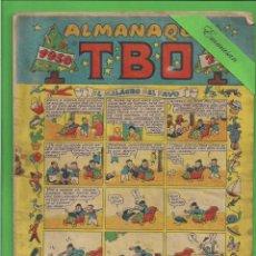 Tebeos: TBO - EXTRA - Nº 11 - ALMANAQUE HUMORÍSTICO PARA 1950 - EL MILAGRO DEL PAVO - BUIGAS - (1949).. Lote 131856198