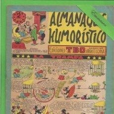 Tebeos: TBO - EXTRA - Nº 2 - ALMANAQUE HUMORÍSTICO PARA 1954 - LA TRAMPA - BUIGAS - (1953).. Lote 131857282