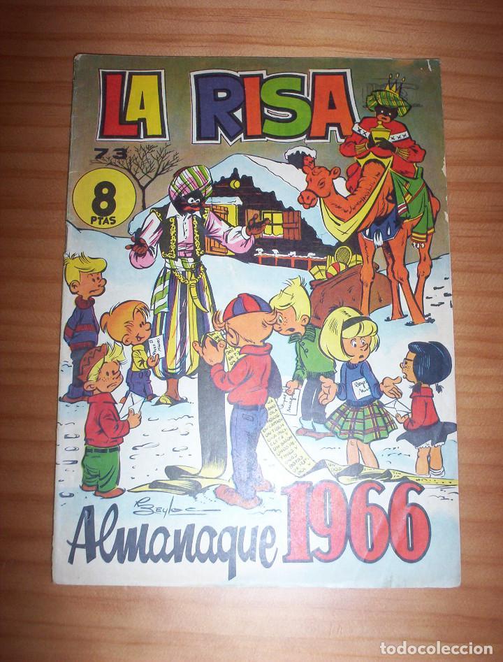 LA RISA - NÚMERO 73: ALMANAQUE 1966 - AÑO 1965 (Tebeos y Comics - Tebeos Almanaques)