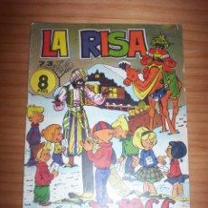 Tebeos: LA RISA - NÚMERO 73: ALMANAQUE 1966 - AÑO 1965. Lote 131995234
