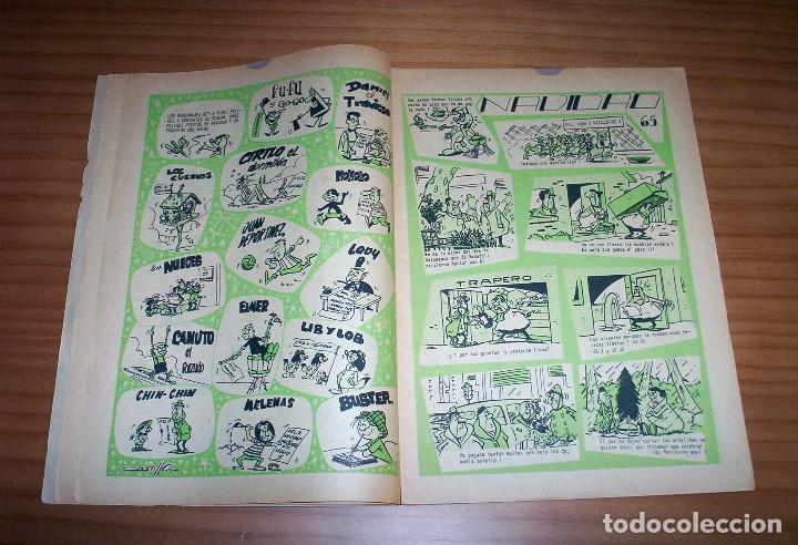 Tebeos: LA RISA - NÚMERO 73: ALMANAQUE 1966 - AÑO 1965 - Foto 3 - 131995234