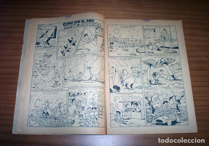 Tebeos: LA RISA - NÚMERO 73: ALMANAQUE 1966 - AÑO 1965 - Foto 7 - 131995234