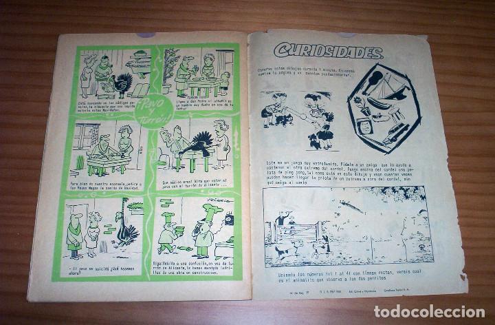 Tebeos: LA RISA - NÚMERO 73: ALMANAQUE 1966 - AÑO 1965 - Foto 9 - 131995234
