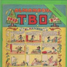 Tebeos: TBO - EXTRA - Nº 15 - ALMANAQUE PARA 1952 - EL HAMBRE - BUIGAS. (1951).. Lote 132031950