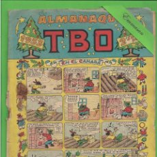Tebeos: TBO - EXTRA - Nº 1 - ALMANAQUE PARA 1953 - EN EL CANADÁ - BUIGAS. (1952).. Lote 132032106
