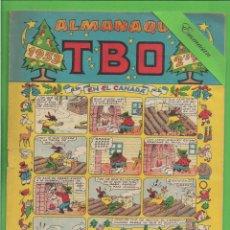 Tebeos: TBO - EXTRA - Nº 1 - ALMANAQUE PARA 1953 - EN EL CANADÁ - BUIGAS. (1952).. Lote 132032214