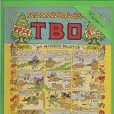 Tebeos: TBO - EXTRA - Nº 3 - ALMANAQUE PARA 1954 - UN HOMBRE PRÁCTICO - BUIGAS. (1953).. Lote 132032362