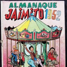 Tebeos: JAIMITO. ALMANAQUE 1952. EDITORIAL VALENCIANA. BUEN ESTADO.. Lote 132701794