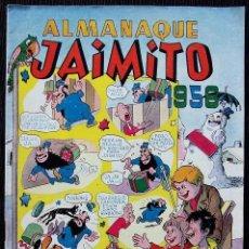 Tebeos: JAIMITO. ALMANAQUE 1956. EDITORIAL VALENCIANA. BUEN ESTADO. . Lote 132702430