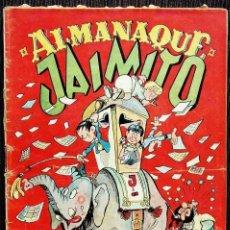 Tebeos: JAIMITO. ALMANAQUE 1950. EDITORIAL VALENCIANA. BUEN ESTADO. . Lote 132705066