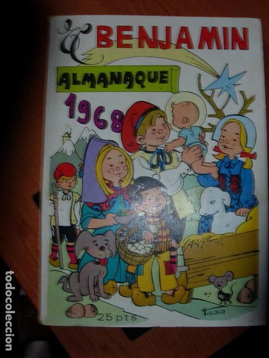 Tebeos: EL BENJAMIN ALMANAQUE 1968 / EL BENJAMIN - Foto 1 - 132779790