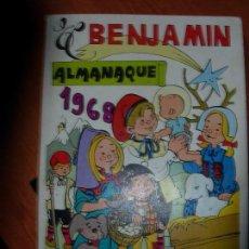 Tebeos: EL BENJAMIN ALMANAQUE 1968 / EL BENJAMIN. Lote 132779790