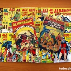 Tebeos: ALMANAQUES, EL GUERRERO DEL ANTIFAZ - COMPLETA - 37 EJEMPLARES - LEER DENTRO Y VER FOTOS ADICIONALES. Lote 132788454
