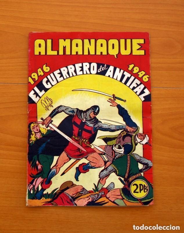 Tebeos: Almanaques, El Guerrero del Antifaz - Completa - 37 ejemplares - Leer dentro y ver fotos adicionales - Foto 2 - 132788454