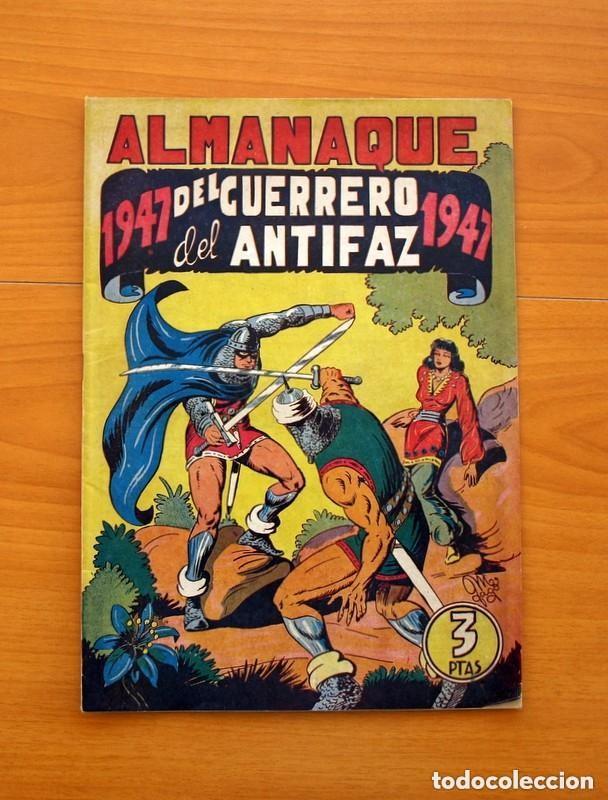 Tebeos: Almanaques, El Guerrero del Antifaz - Completa - 37 ejemplares - Leer dentro y ver fotos adicionales - Foto 4 - 132788454