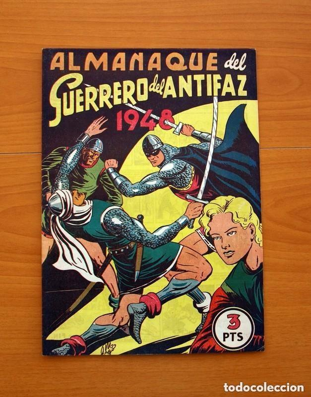 Tebeos: Almanaques, El Guerrero del Antifaz - Completa - 37 ejemplares - Leer dentro y ver fotos adicionales - Foto 6 - 132788454