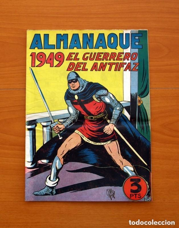 Tebeos: Almanaques, El Guerrero del Antifaz - Completa - 37 ejemplares - Leer dentro y ver fotos adicionales - Foto 8 - 132788454