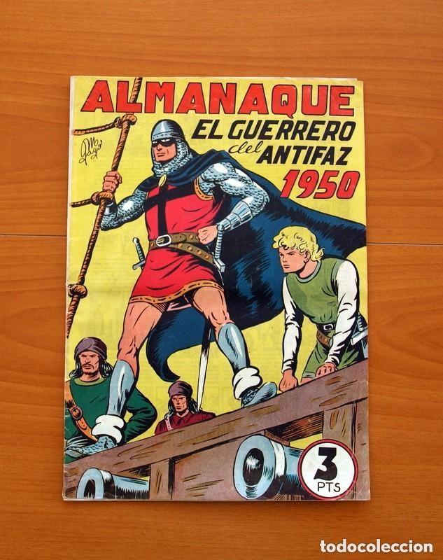 Tebeos: Almanaques, El Guerrero del Antifaz - Completa - 37 ejemplares - Leer dentro y ver fotos adicionales - Foto 10 - 132788454