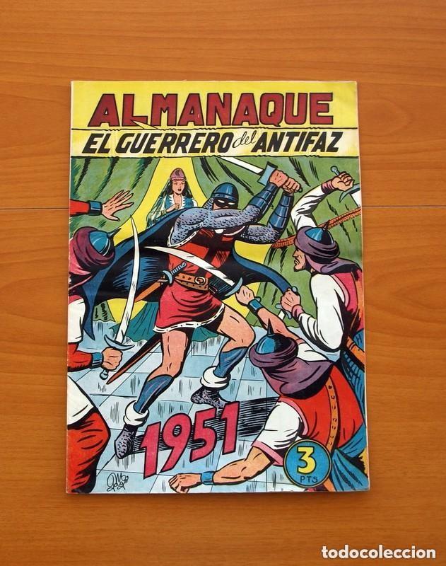Tebeos: Almanaques, El Guerrero del Antifaz - Completa - 37 ejemplares - Leer dentro y ver fotos adicionales - Foto 12 - 132788454