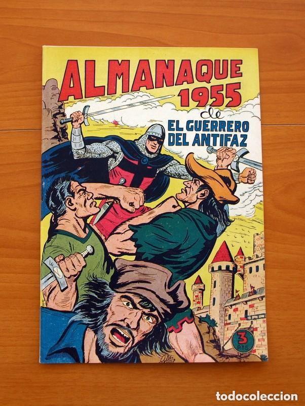 Tebeos: Almanaques, El Guerrero del Antifaz - Completa - 37 ejemplares - Leer dentro y ver fotos adicionales - Foto 20 - 132788454