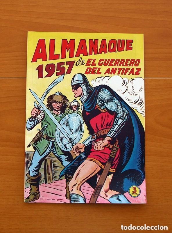 Tebeos: Almanaques, El Guerrero del Antifaz - Completa - 37 ejemplares - Leer dentro y ver fotos adicionales - Foto 24 - 132788454