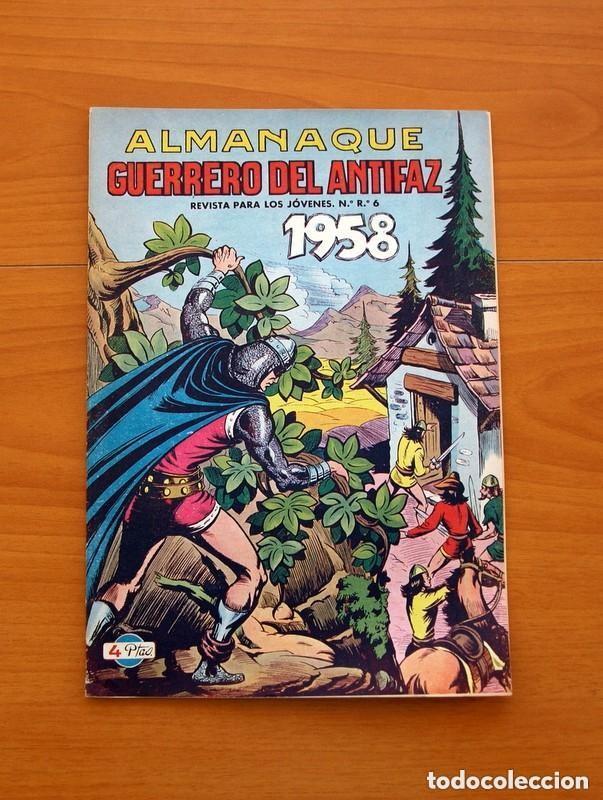 Tebeos: Almanaques, El Guerrero del Antifaz - Completa - 37 ejemplares - Leer dentro y ver fotos adicionales - Foto 26 - 132788454