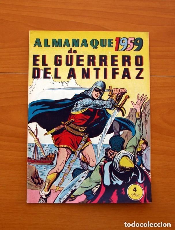 Tebeos: Almanaques, El Guerrero del Antifaz - Completa - 37 ejemplares - Leer dentro y ver fotos adicionales - Foto 28 - 132788454