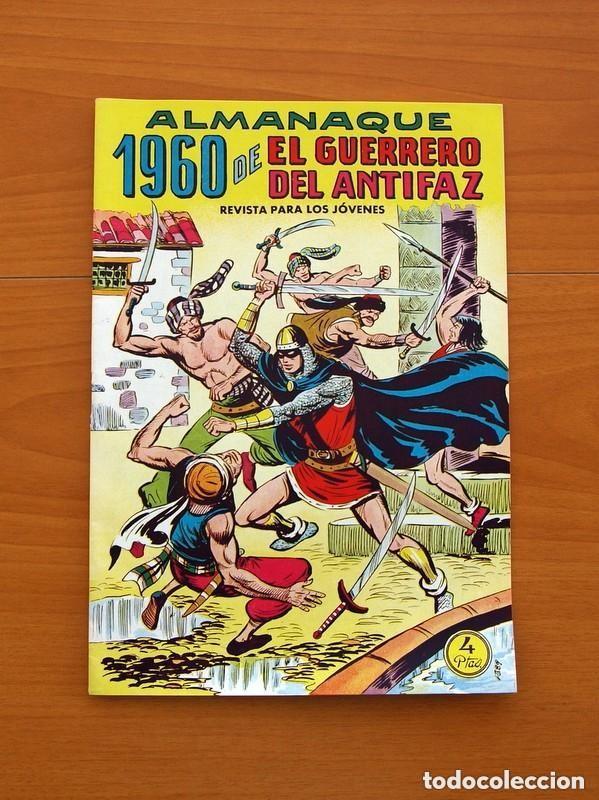Tebeos: Almanaques, El Guerrero del Antifaz - Completa - 37 ejemplares - Leer dentro y ver fotos adicionales - Foto 30 - 132788454