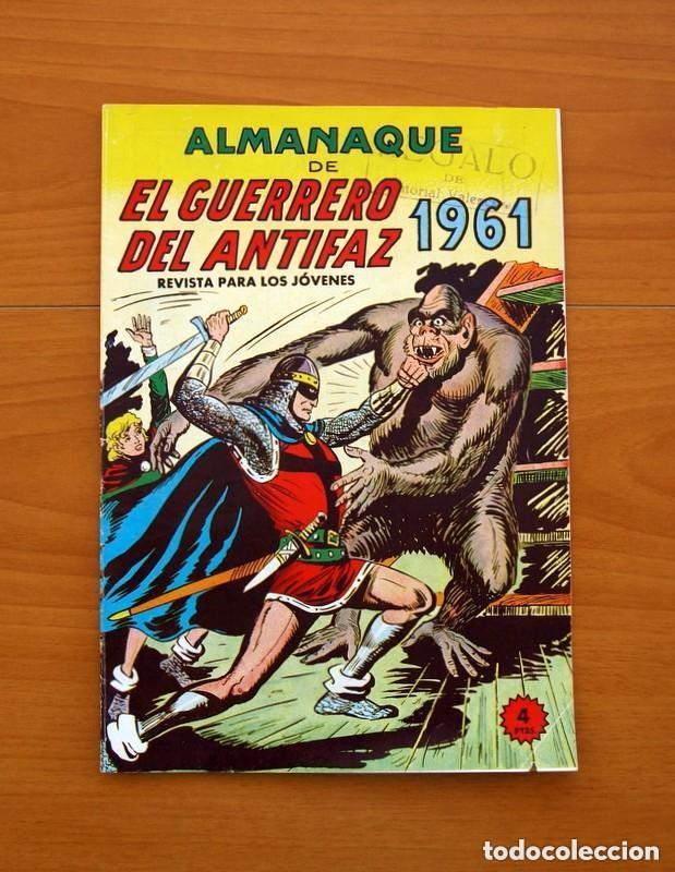 Tebeos: Almanaques, El Guerrero del Antifaz - Completa - 37 ejemplares - Leer dentro y ver fotos adicionales - Foto 32 - 132788454