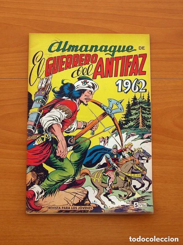 Tebeos: Almanaques, El Guerrero del Antifaz - Completa - 37 ejemplares - Leer dentro y ver fotos adicionales - Foto 34 - 132788454
