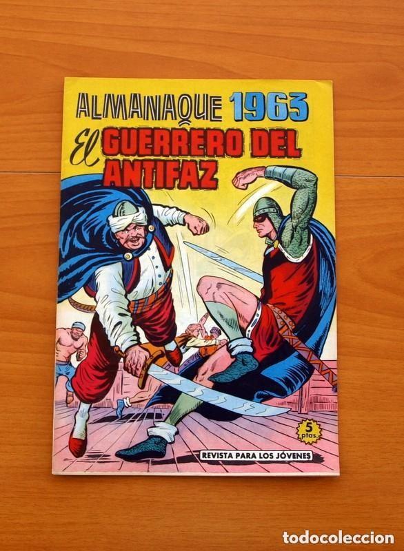 Tebeos: Almanaques, El Guerrero del Antifaz - Completa - 37 ejemplares - Leer dentro y ver fotos adicionales - Foto 36 - 132788454