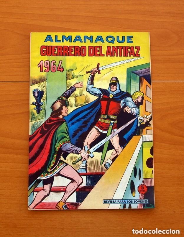 Tebeos: Almanaques, El Guerrero del Antifaz - Completa - 37 ejemplares - Leer dentro y ver fotos adicionales - Foto 38 - 132788454