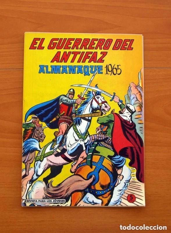 Tebeos: Almanaques, El Guerrero del Antifaz - Completa - 37 ejemplares - Leer dentro y ver fotos adicionales - Foto 40 - 132788454
