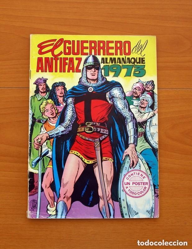 Tebeos: Almanaques, El Guerrero del Antifaz - Completa - 37 ejemplares - Leer dentro y ver fotos adicionales - Foto 44 - 132788454