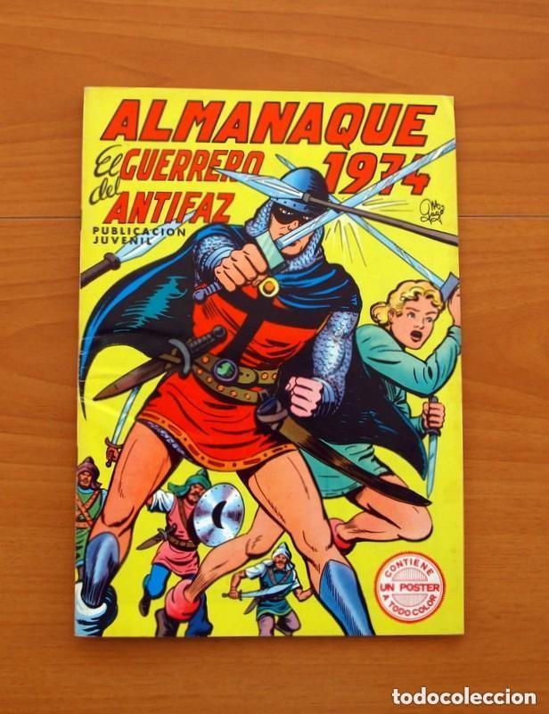 Tebeos: Almanaques, El Guerrero del Antifaz - Completa - 37 ejemplares - Leer dentro y ver fotos adicionales - Foto 48 - 132788454