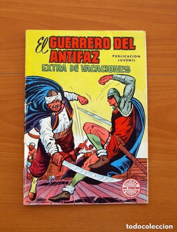Tebeos: Almanaques, El Guerrero del Antifaz - Completa - 37 ejemplares - Leer dentro y ver fotos adicionales - Foto 50 - 132788454